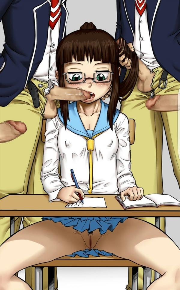 二次眼鏡エロ (18)