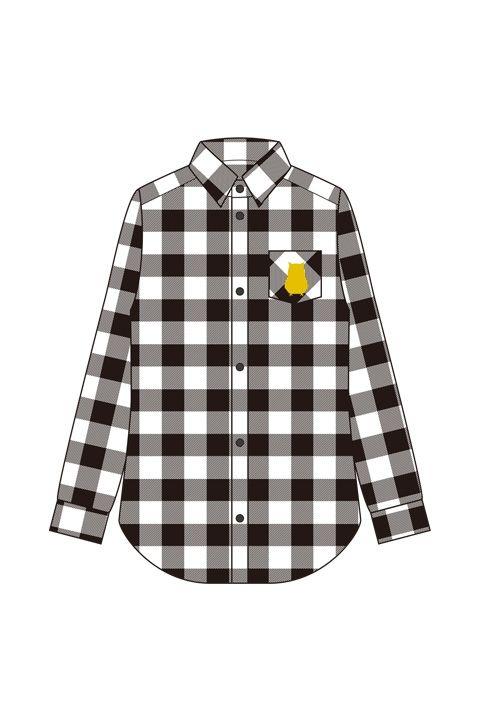 梟谷高校メージチェックシャツ