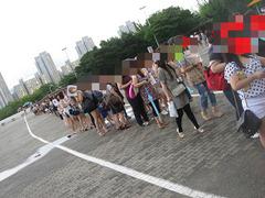2010年KAT-TUN韓国ライブ入場列