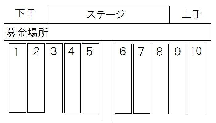 2012年MarchingJ東京ドーム会場図