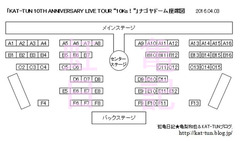 10Ks名古屋座席&セット図