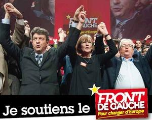 front de gauche soutiens