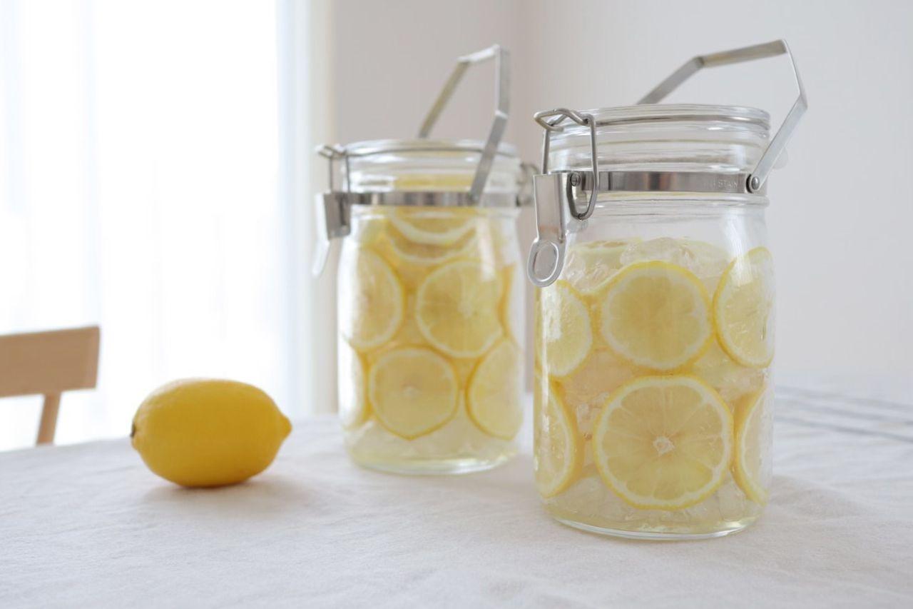 レモン シロップ 保存