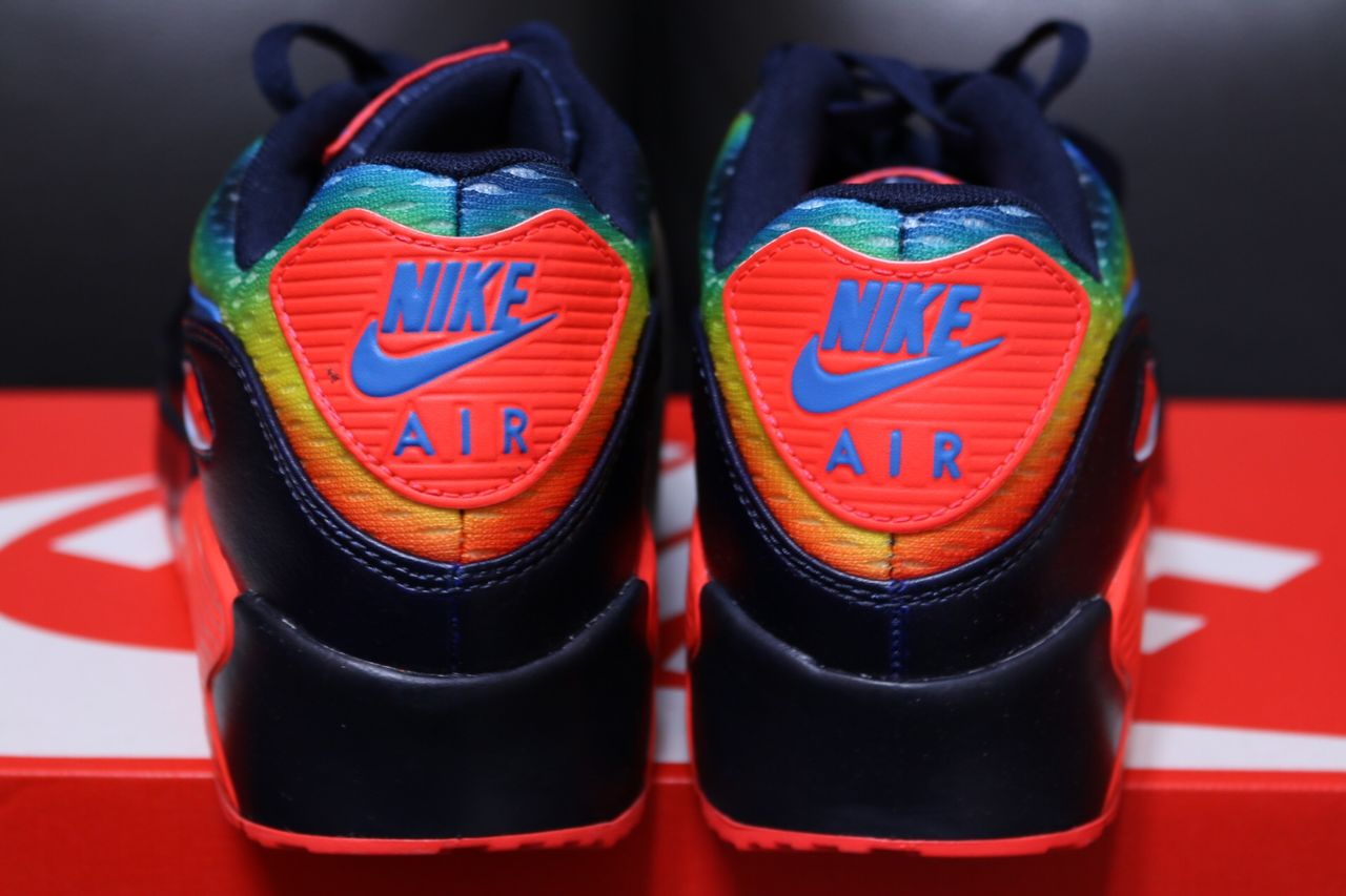 hot sale online 2dbef e8097 Nike proudly introduces the NIKE AIR MAX 90 HEAT MAP PACK. image .