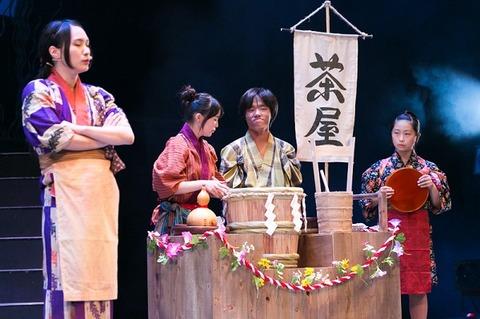 写真12 茶屋舞台