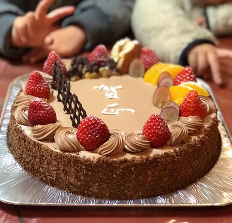 写真2 ケーキ