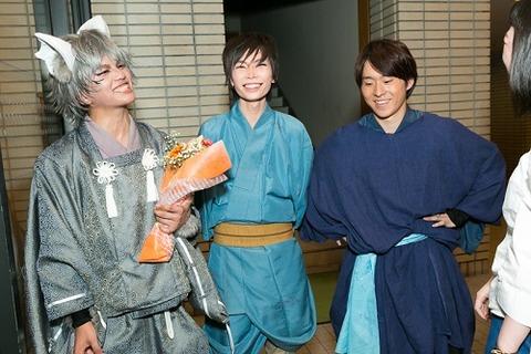 写真17 早太郎含む3人笑顔