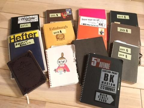 歴代の命のノート