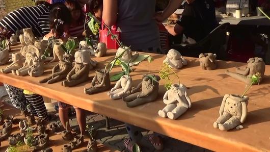 錦山高麗人参祭り 体験2