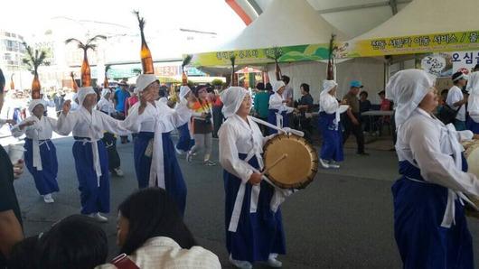 錦山高麗人参祭り パレード2