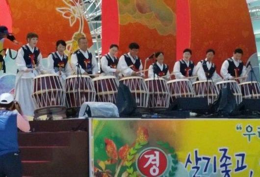 錦山高麗人参祭り 公演
