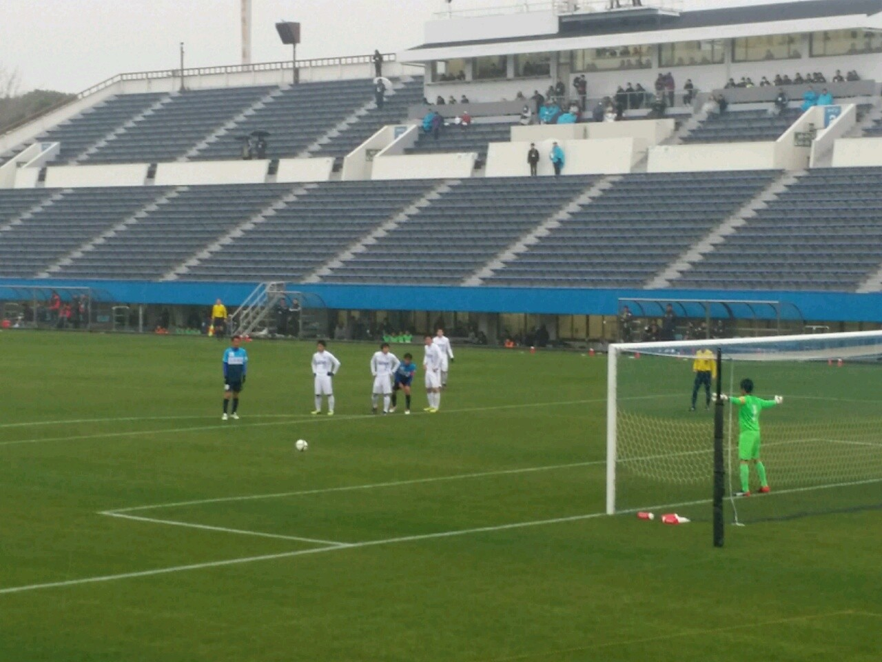 後半63分、横浜FCがPKをゲット 【後半63分、横浜FCがPKをゲット】 後半に入り、横浜FC