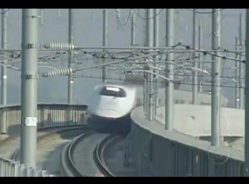 ブラジルの新幹線紹介番組