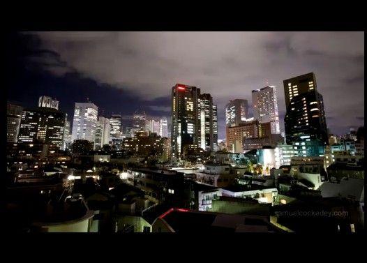 外人から見た東京の夜景