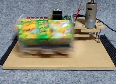 コアラのマーチ振り機を作ってみた