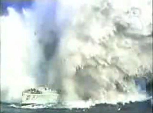 魚雷攻撃の凄まじい破壊力
