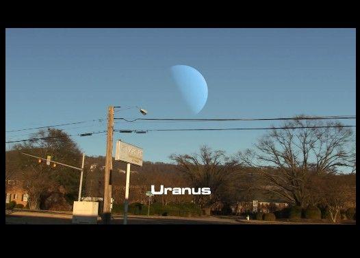 もしも月の位置に他の太陽系惑星があったら