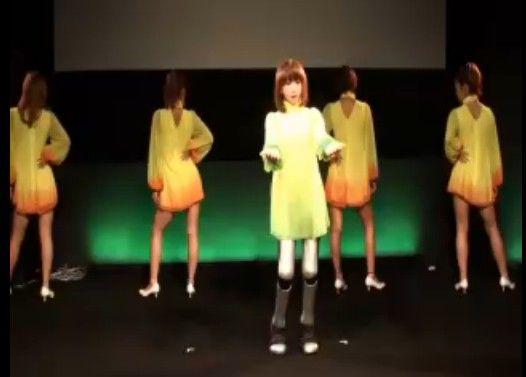 日本のロボット VS 韓国のロボット