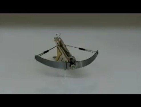 究極の小型ボウガンを作りなさった