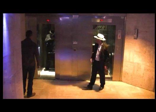 レミさんがエレベーター