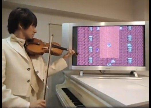 ドラクエ3をヴァイオリンで演奏してみた