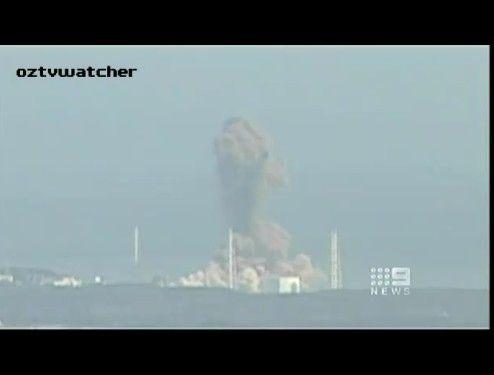 福島第1原発の水素爆発に絶句する海外アナウンサー