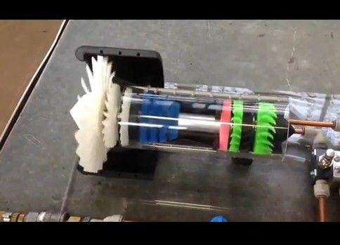 ジェットエンジン模型