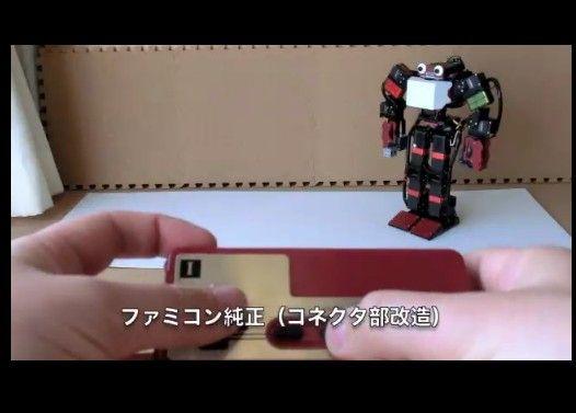 いろいろなコントローラーでロボットを操作します