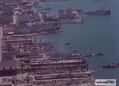 戦後米軍に撮影された大日本帝国の艦船