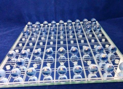 ビー玉将棋の将棋盤を作ってみた