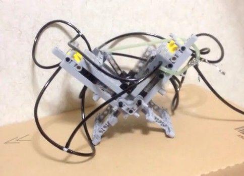 LEGOでV型4気筒エンジン試作Ver