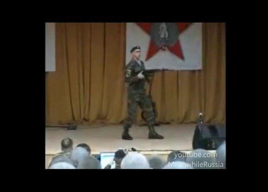 ロシア軍人のロボットダンスが凄いと聞いて