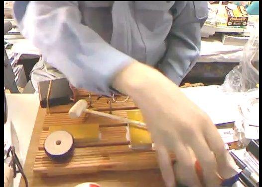 【コレはひどい】電動ダルマ落とし機を作ってみた
