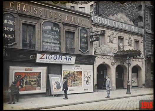 100年前から変わらないパリの町並みをどうぞ