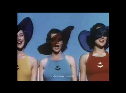 1930年代の水着ショー
