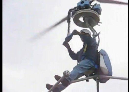 我が国の世界最小ヘリ