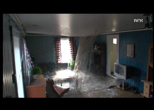 家の3階から水を大量にいれるとどうなるでしょう