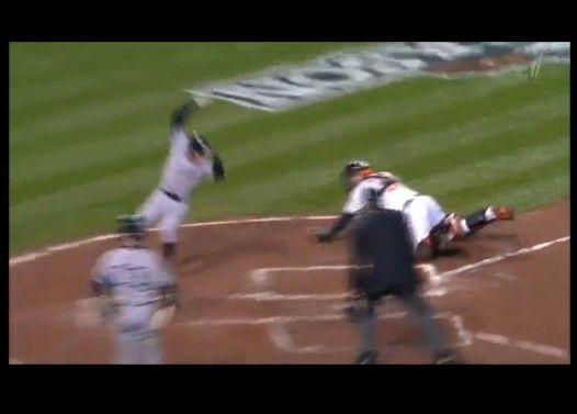 神回避】イチローのNINJA走塁【MLB 2012/10/9】