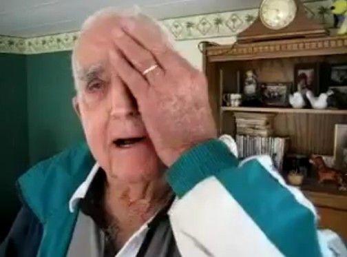 片目を失ったおじいちゃんが怖すぎる