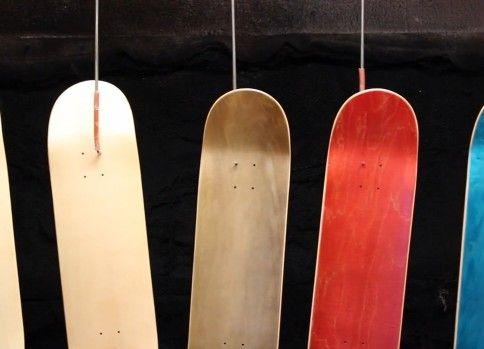 スケートボードの製作