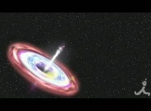 ブラックホールが星吸い込む瞬間を観測