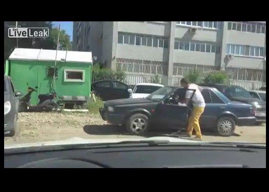 【おそロシア】無断駐車の懲らしめ方