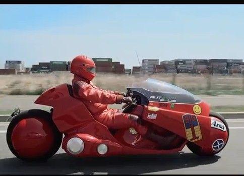 皆が憧れたあのバイクの走行動画