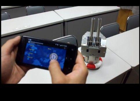 【艦これ】スマホで操縦できる連装砲ちゃんのロボットを作ってみたよ!