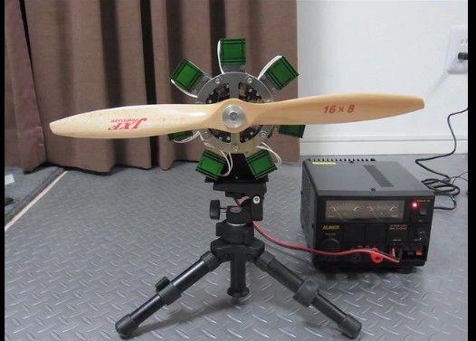 星型エンジンを作ってみた
