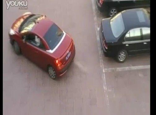 駐車場で割り込みされた時の見事な対処法