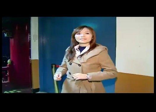 台湾美人記者の可愛い悲鳴