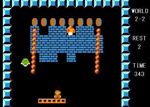 【ブロック崩し】甲羅でブロックを破壊するゲーム