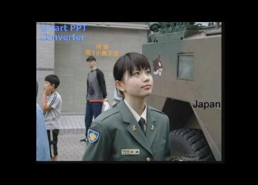 世界の女性兵士