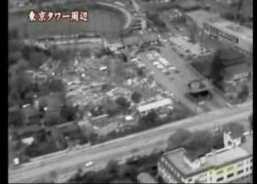東京の空の下 立教大学